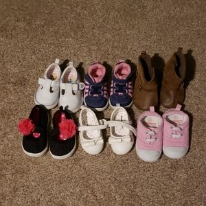 Baby girl size 2 & 3 shoes
